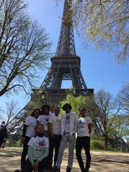 À la Tour Eiffel