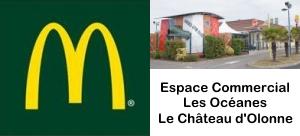McDonald's Le Château d'olonne